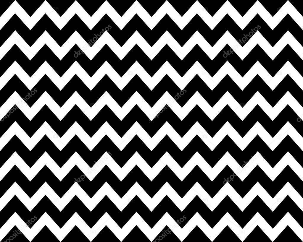 Zick-Zack-Hintergrund schwarz weiß — Stockfoto © keport #130472738
