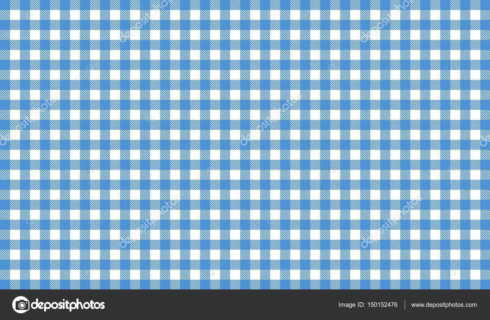 Sfondo Tovaglia Tovaglia Bianca E Blu Foto Stock Keport 150152476