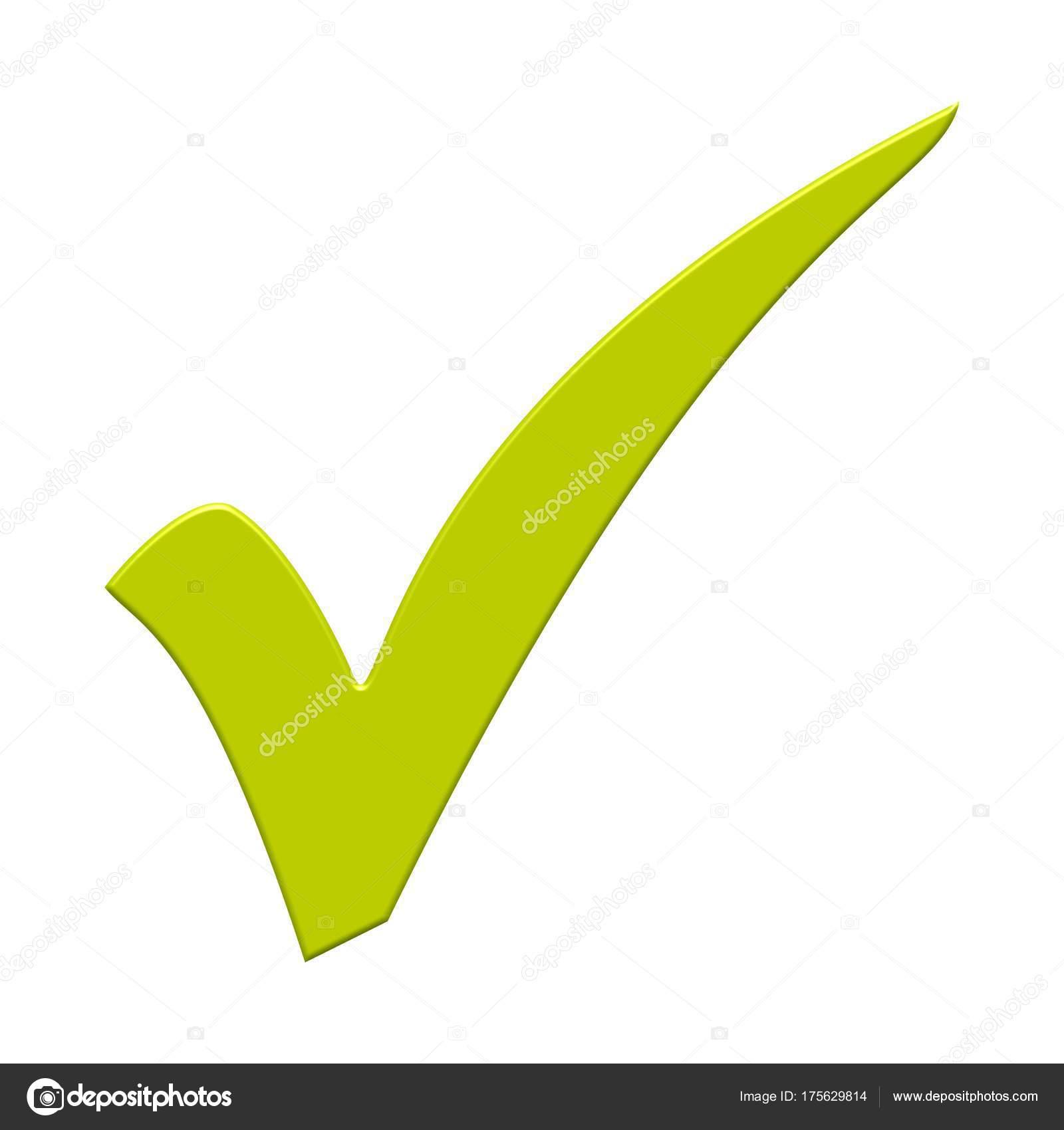 Símbolo De Tick Verde Fotos De Stock Keport 175629814