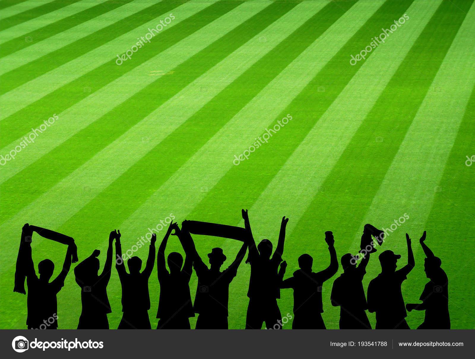 Jubelnde Fussballfans Im Stadion Stockfoto C Keport 193541788