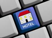 Szimbólum a számítógép billentyűzetén: Hotel