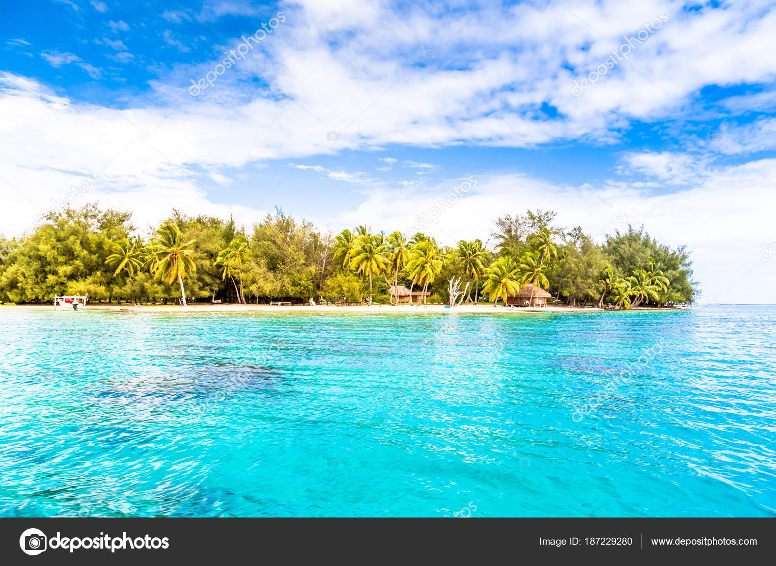 Bora Bora Island French Polynesia Stock Photo C Marabelo