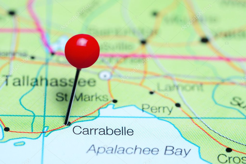 Carrabelle pinned on a map of Florida, USA — Stock Photo ... on bradfordville florida map, pascagoula florida map, sharpes florida map, brookridge florida map, evinston florida map, sumatra florida map, molino florida map, pensacola bay florida map, campbellton florida map, warrington florida map, vamo florida map, baton rouge florida map, north carolina florida map, st. johns river florida map, hypoluxo florida map, south daytona florida map, st. george island state park florida map, pretty bayou florida map, mobile florida map, massachusetts florida map,