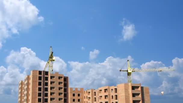 kompletní stavební time-lapse