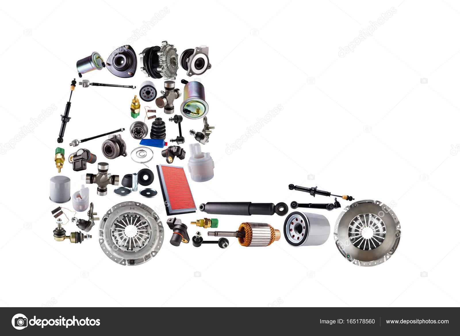 Bilder LKW montiert aus neue Ersatzteile — Stockfoto © Dezay #165178560