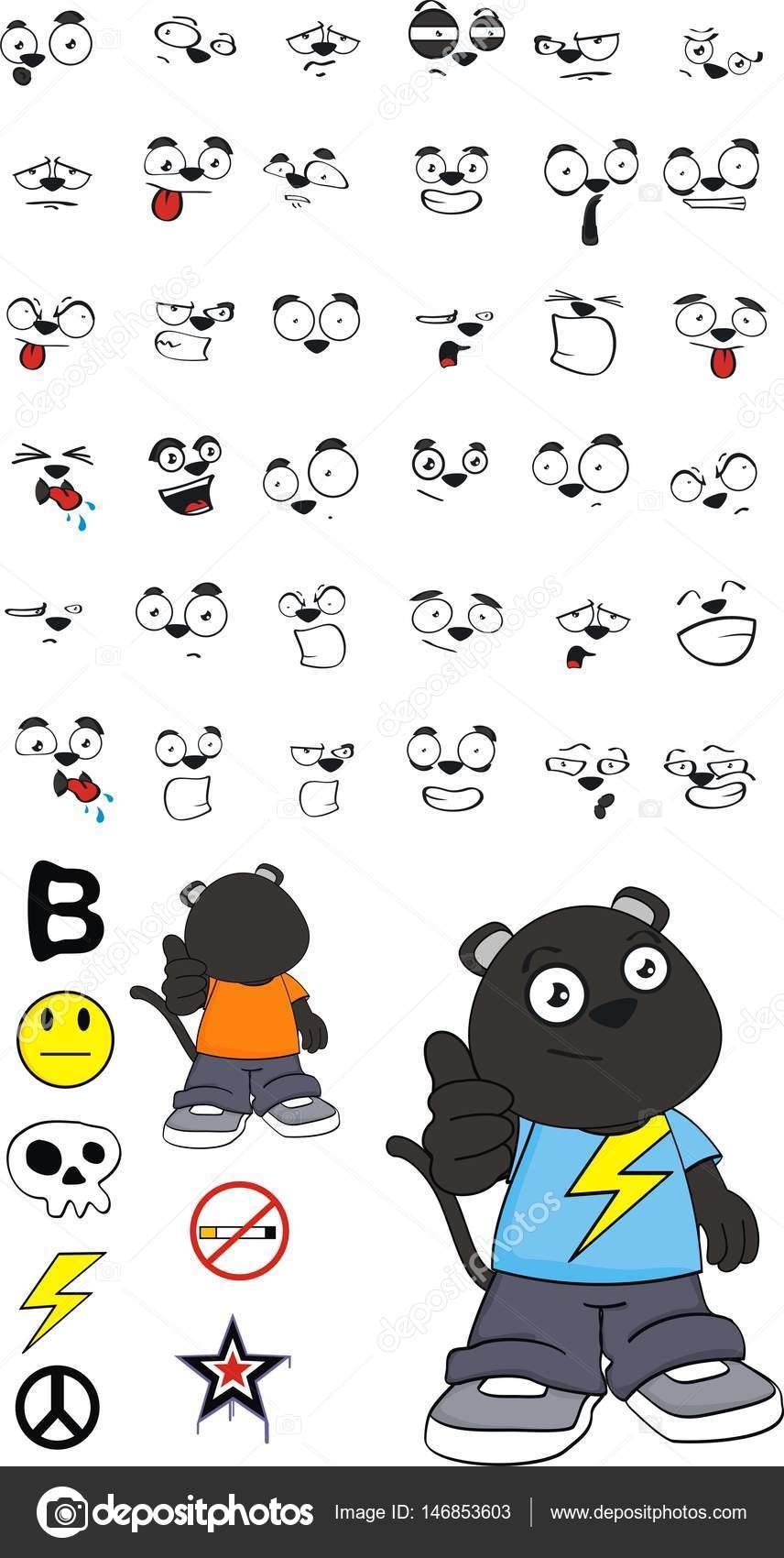 Dessin anime 5 emotions