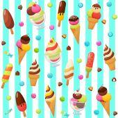 zmrzlina barevné kolekce