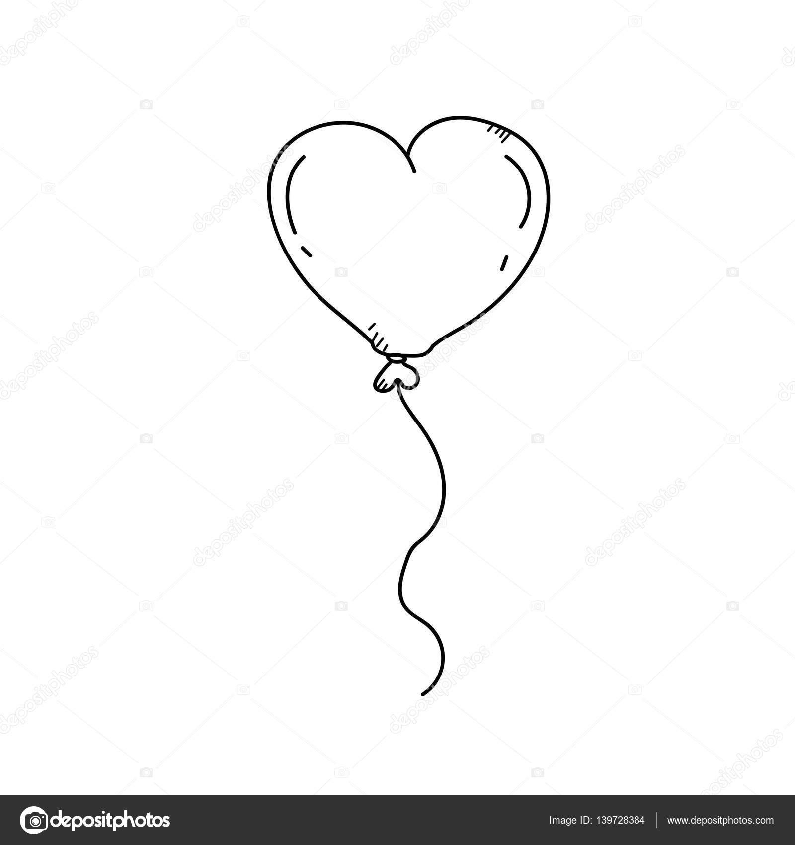 kleurplaat hartjes ballonnen 28 afbeeldingen