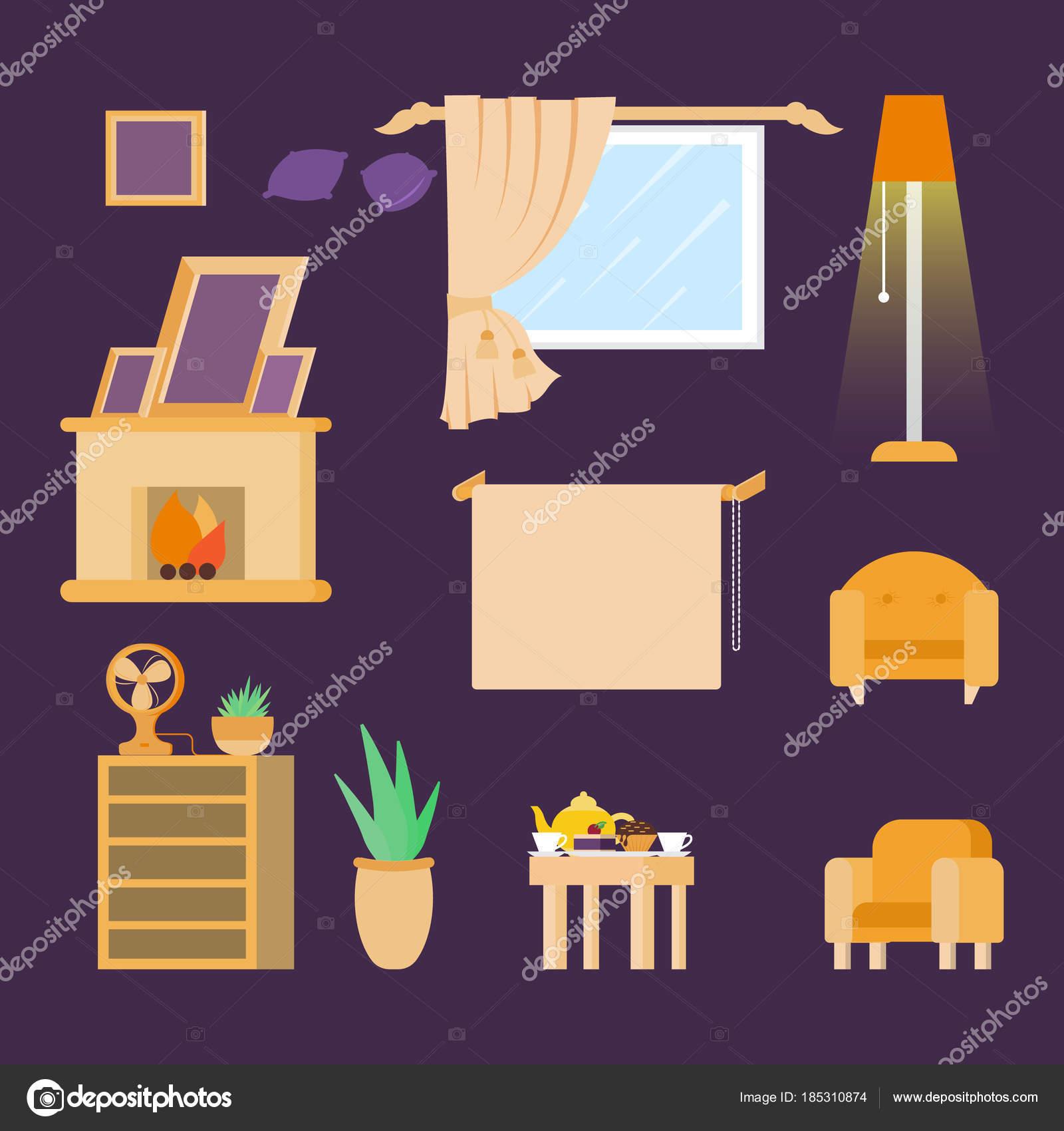 Muebles para el hogar. Diseño de interiores. Sistema de librería de ...