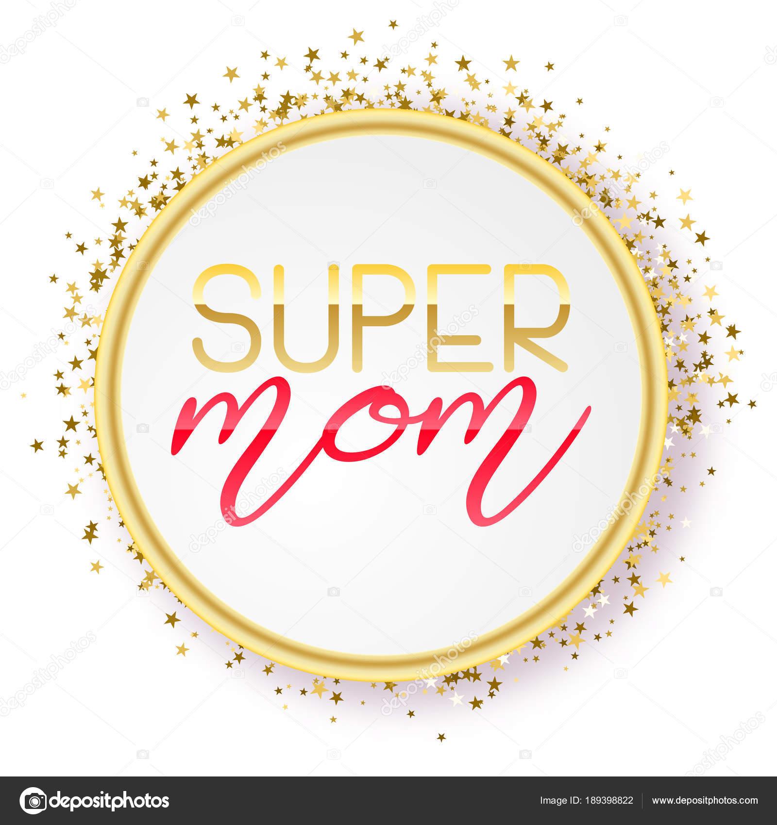 Super Design Texte Maman Dans Un Style Réaliste Pour Lheureuse Mère