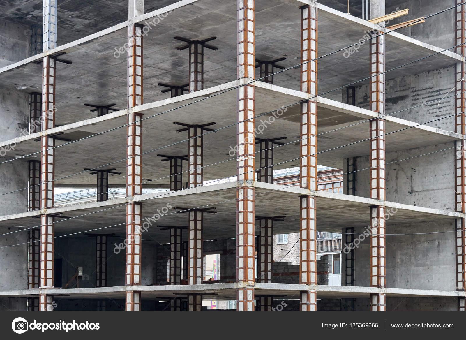 Железобетонная рама в здании жби 1 магистральная сайт