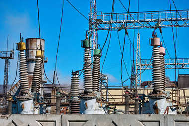 Electric substation for production