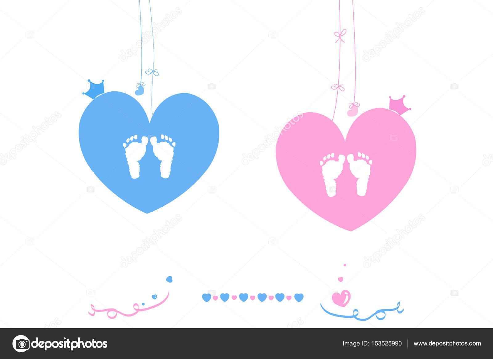 Corazón Niño Niña Bebé