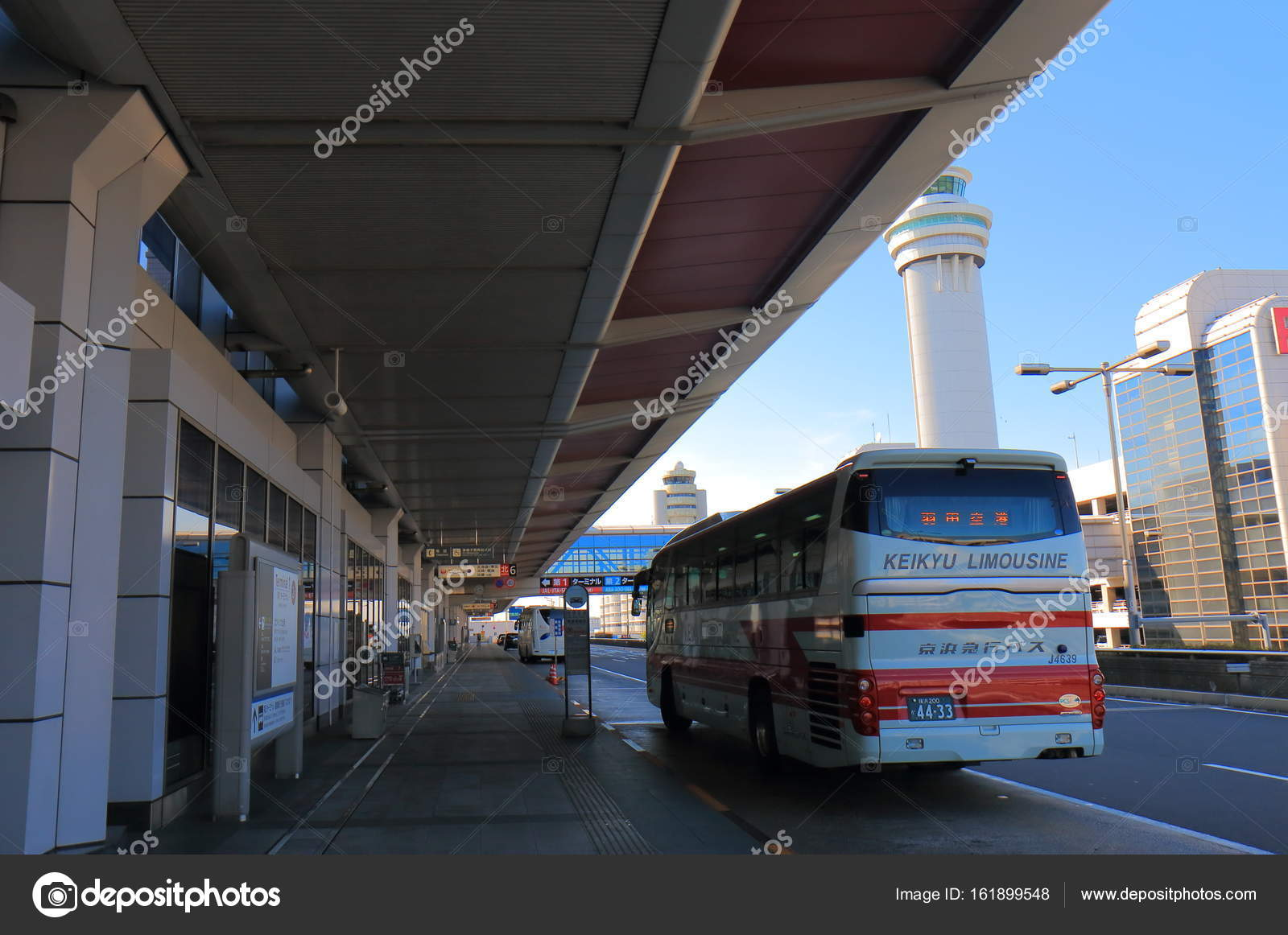 Aeroporto Tokyo : Aeroporto internazionale haneda di tokyo giappone u foto