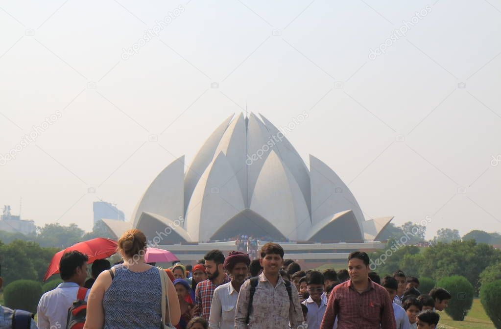 Lotus temple delhi Stock Photos, Illustrations and Vector Art | Depositphotos®