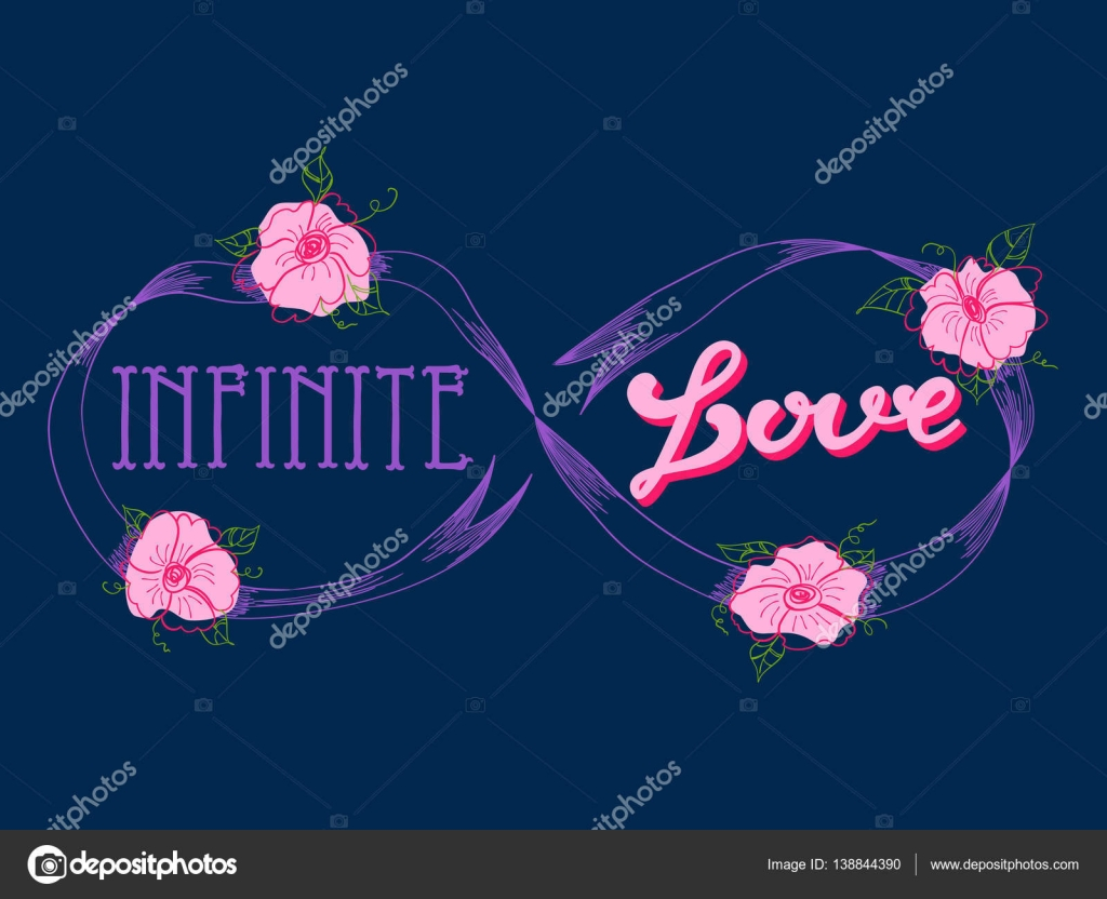 Imágenes Logo De Amor Infinito Tarjeta De Amor Infinito