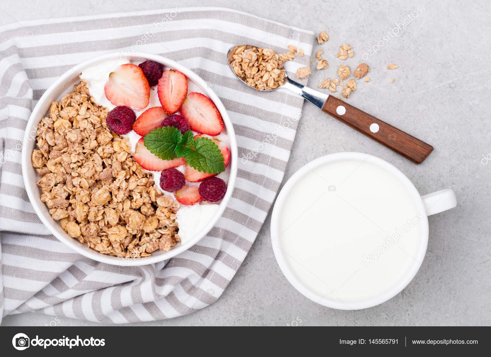 Dieta de yogurt y avena