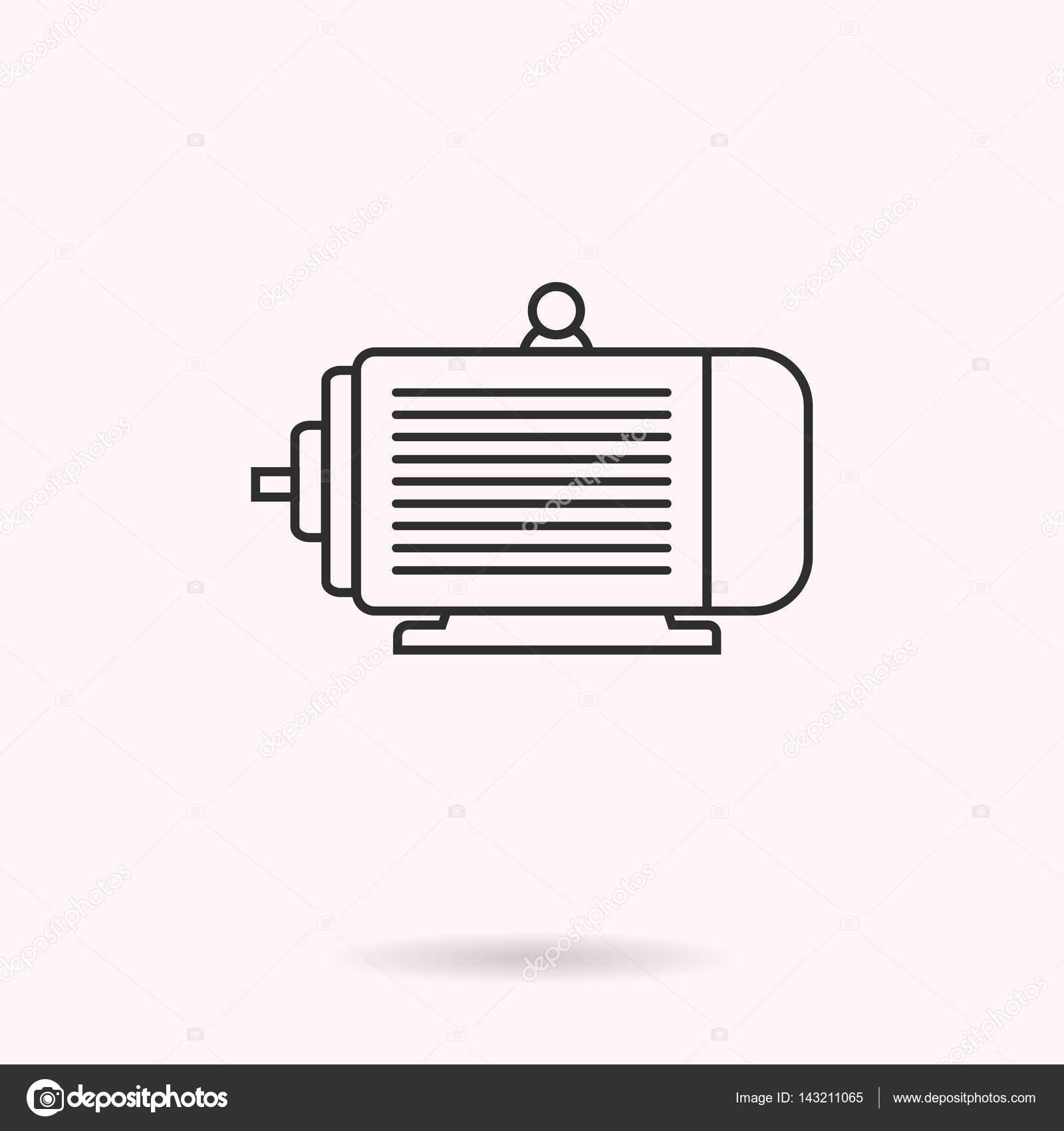 Motor eltrico cone vector vetores de stock lovemask 143211065 motor eltrico cone vector vetores de stock ccuart Choice Image