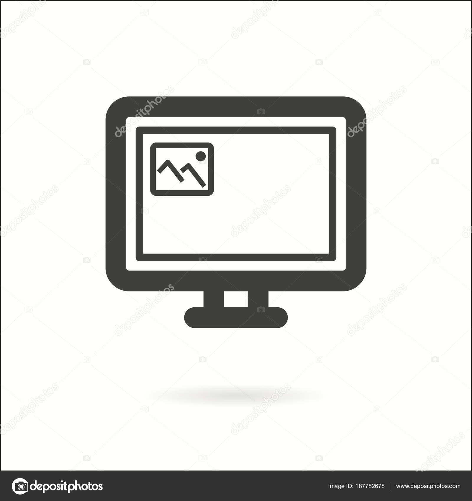 Laptop vector icon  — Stock Vector © lovemask #187782678