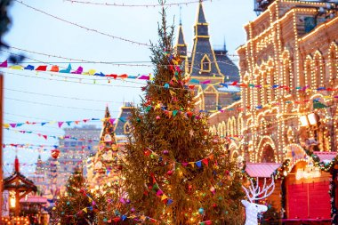 New year's GUM fair on Red square