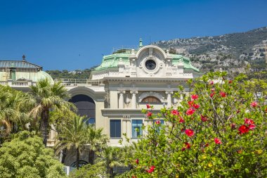 Gardens and palaces in Monte Carlo