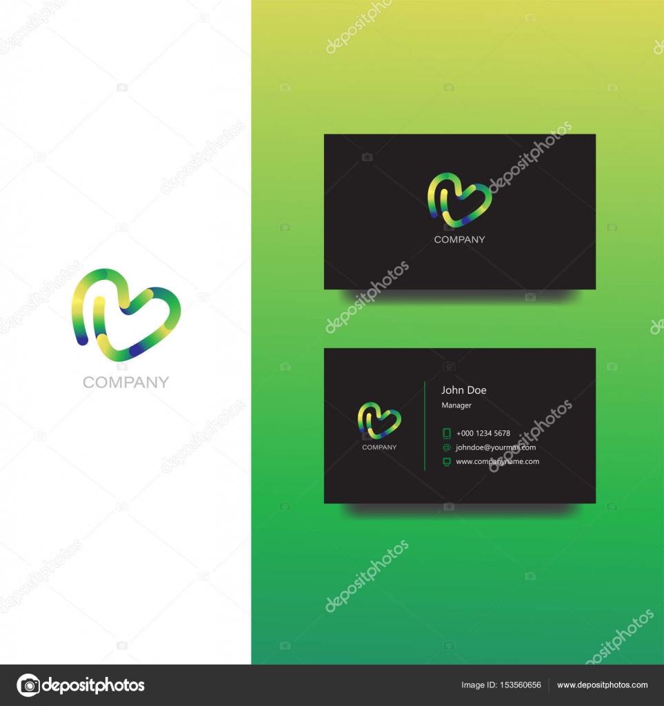 Kreative Agentur Oder Design Firma Logo Und Visitenkarte
