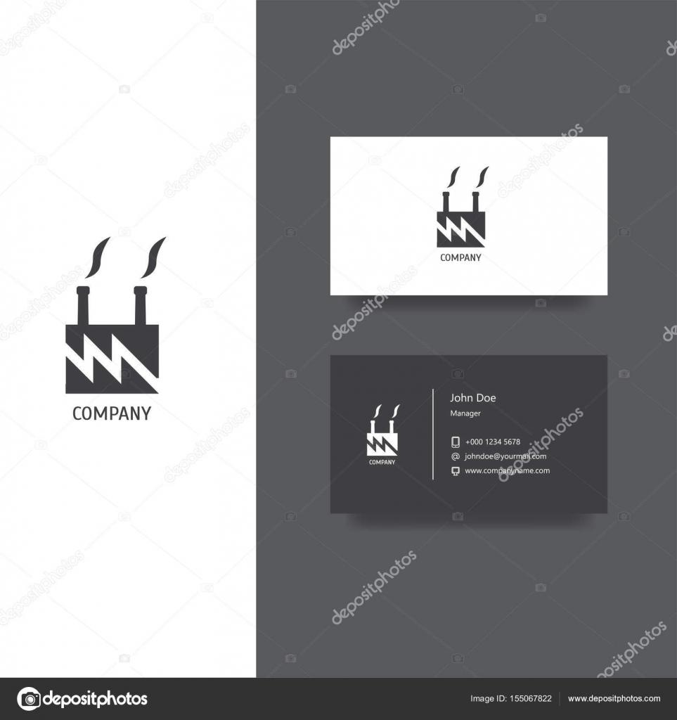 Creation De Logo Vectoriel Eps Pour Usine Ou Batiment Companyy Business Modele Carte Conception Licone Vecteur Par Manjuna