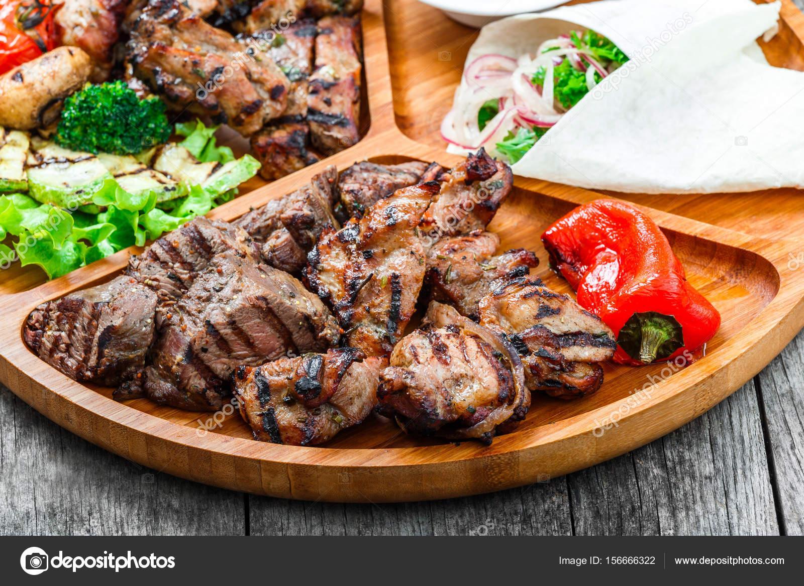 vleesgerechten op de bbq