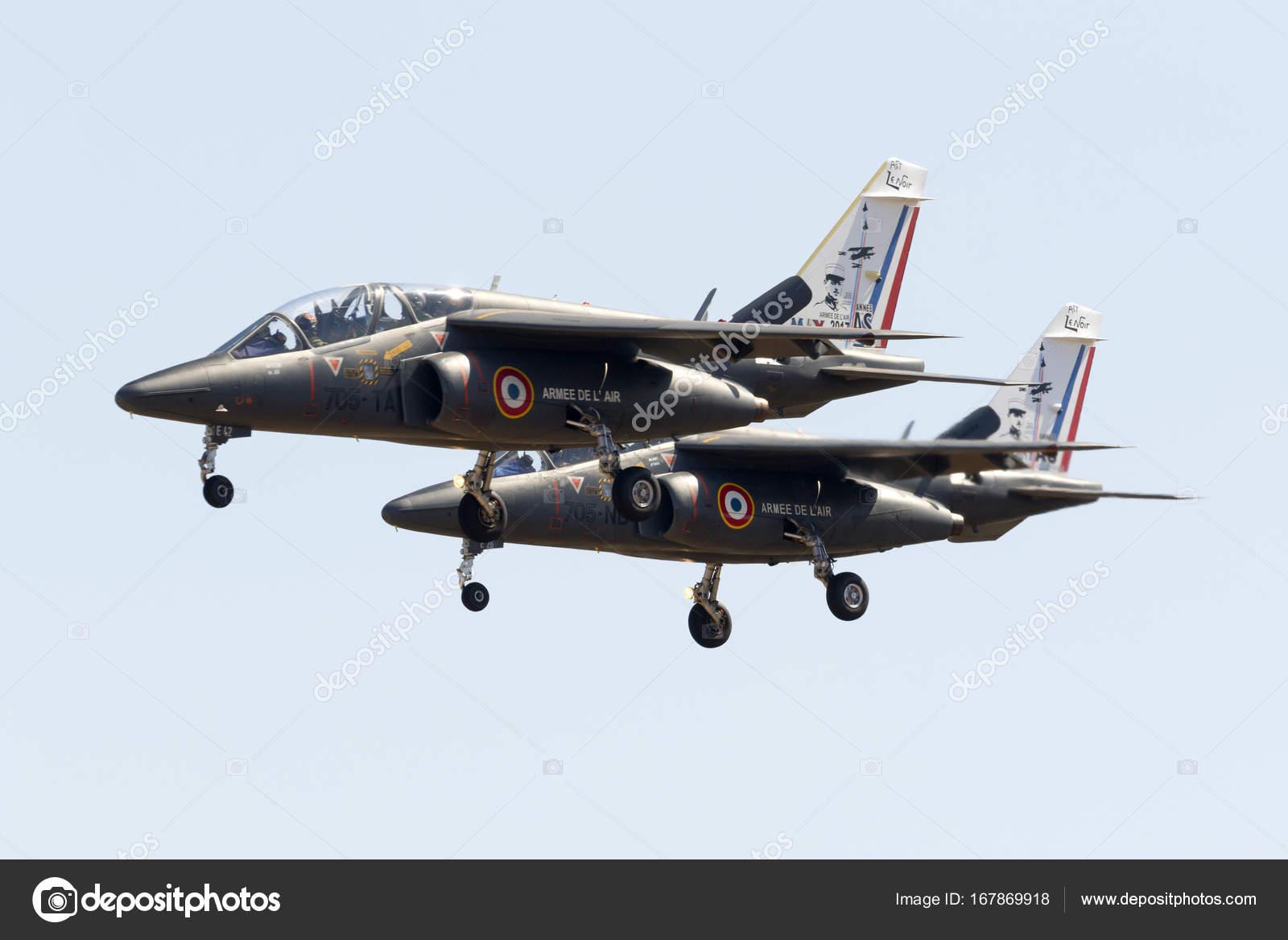 Luqa Malta September 2017 French Air Force Dassault Dornier Alpha