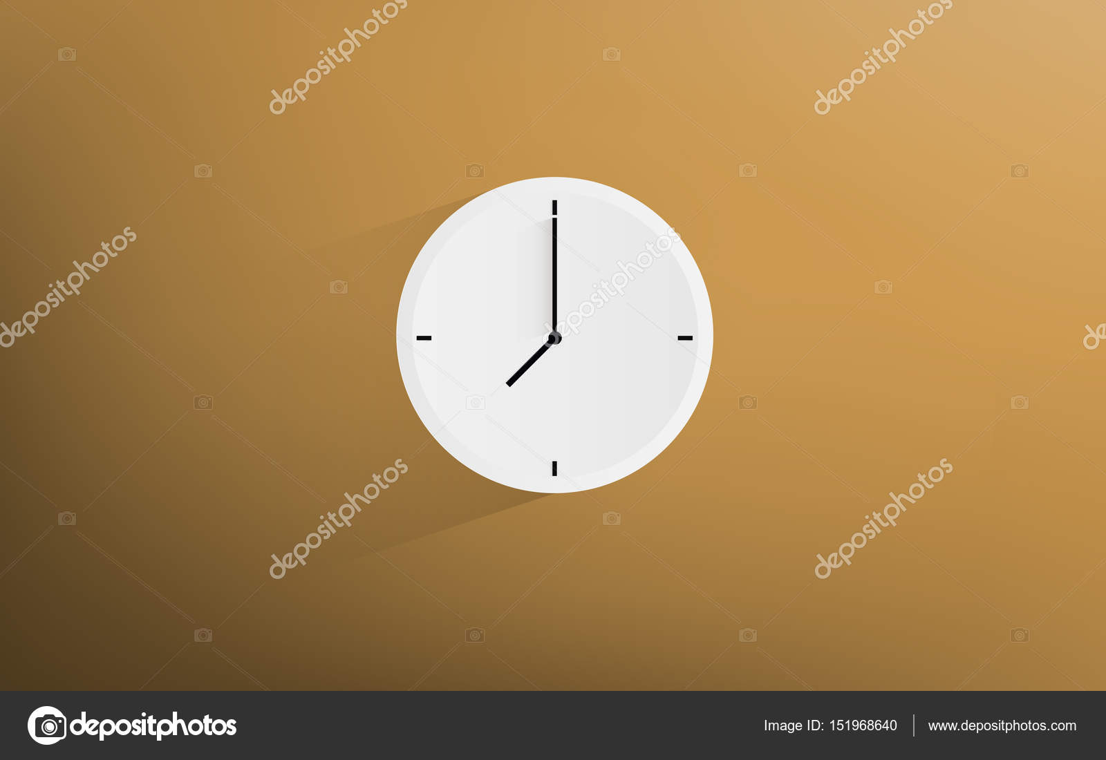 White clock on the wall icon vector stock photo pubmanhero white clock on the wall icon vector stock photo 151968640 amipublicfo Gallery
