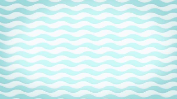bezešvé vzor s modrými vlnami tekoucí křivka pohybu pozadí.