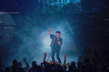 Dnipropetrovsk, Ukraine - October 31, 2012: Scorpions rock band