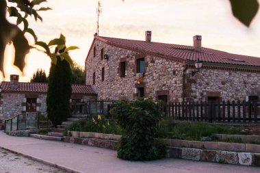 stone contemporary living house