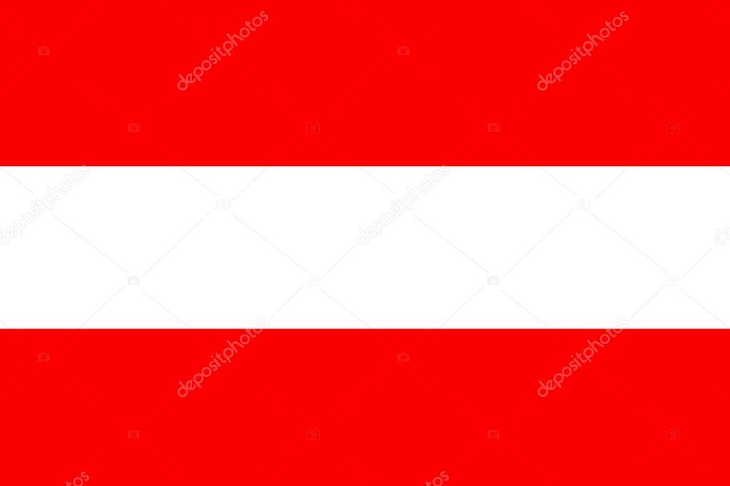 austria flag austria national flag illustration symbol stock