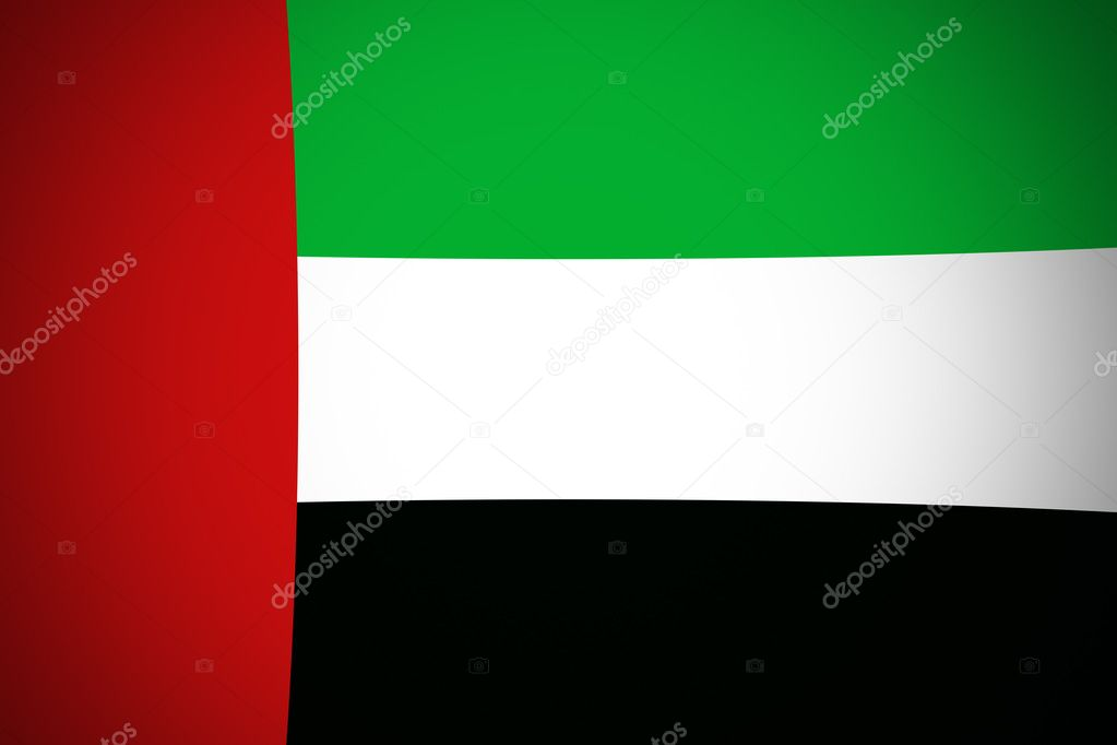 bandera oficial de emiratos arabes unidos