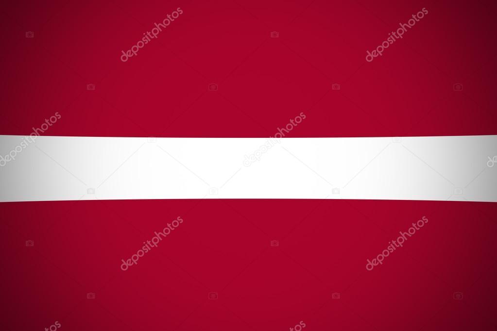 bandeira da letónia original e simples bandeira da letónia stock