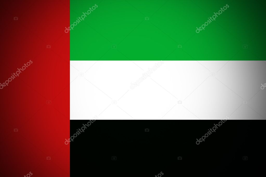 united arab emirates flag original and simple united arab emirates