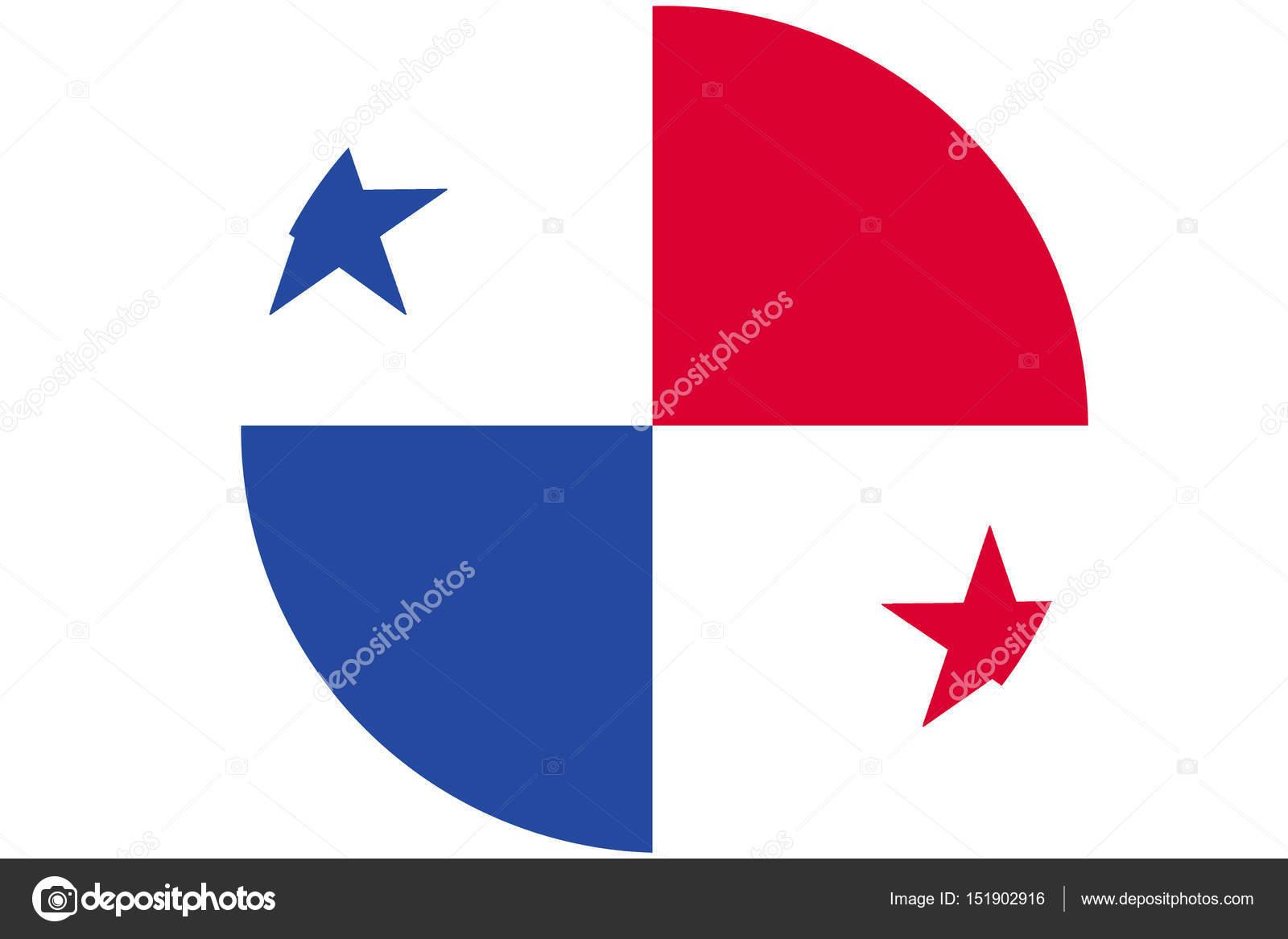 Panama Flag D Illustration Symbol Panama Flag Stock Editorial - Panama flag