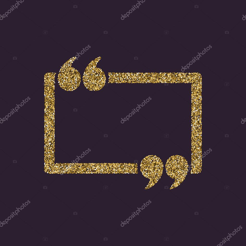 Glitter and sparkle quotes | The Quotation Mark Speech ...