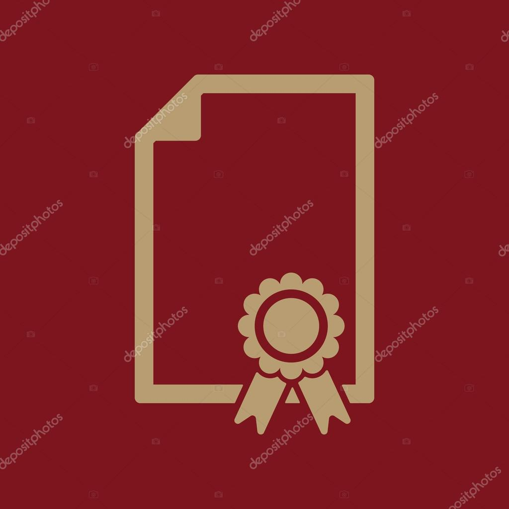 the certificate icon diploma symbol flat stock vector © vladvm  diploma symbol flat vector illustration vector by vladvm