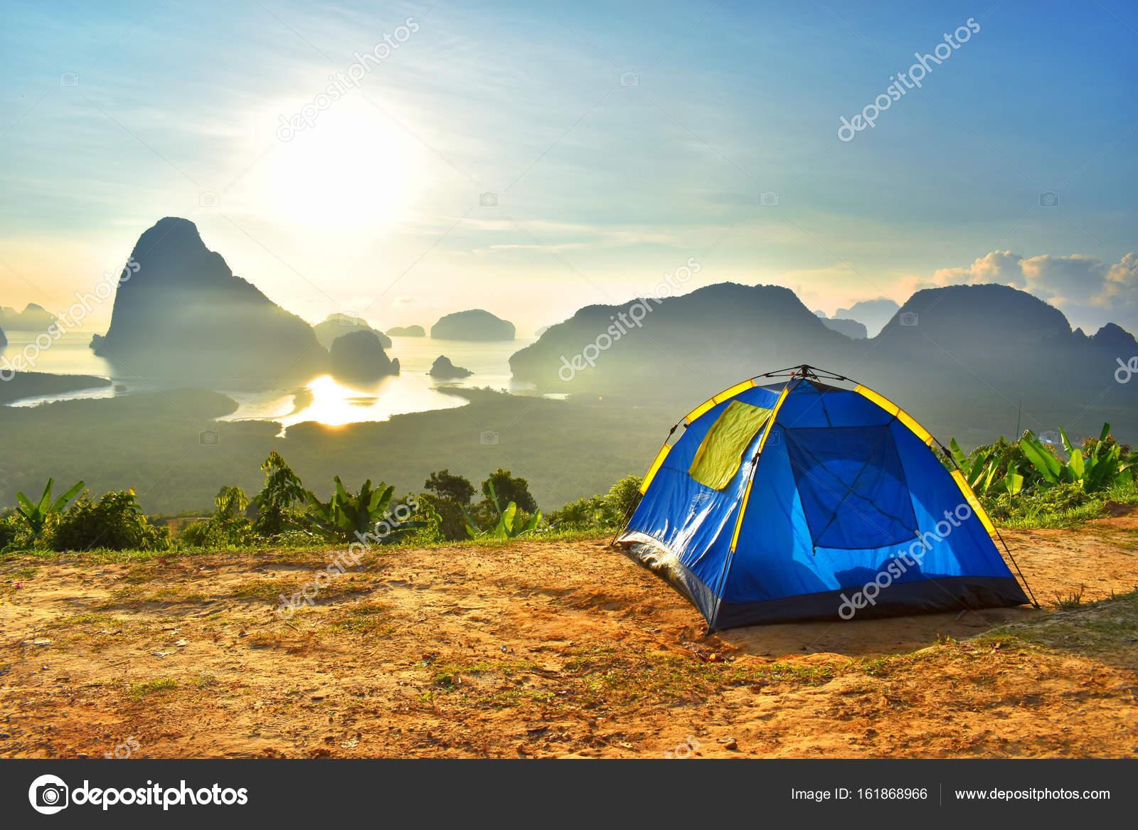 C& Tent Stay Doi Mountain Sky Morning Sunrise Thailand u2014 Photo by Ienjoyeverytime & Camp Tent Stay Doi Mountain Sky Morning Sunrise Thailand u2014 Stock ...