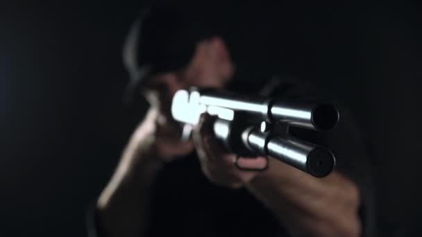 Spec ops rendőr Swat fekete egységes stúdió