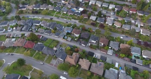A légi felvétel a ház a környéken