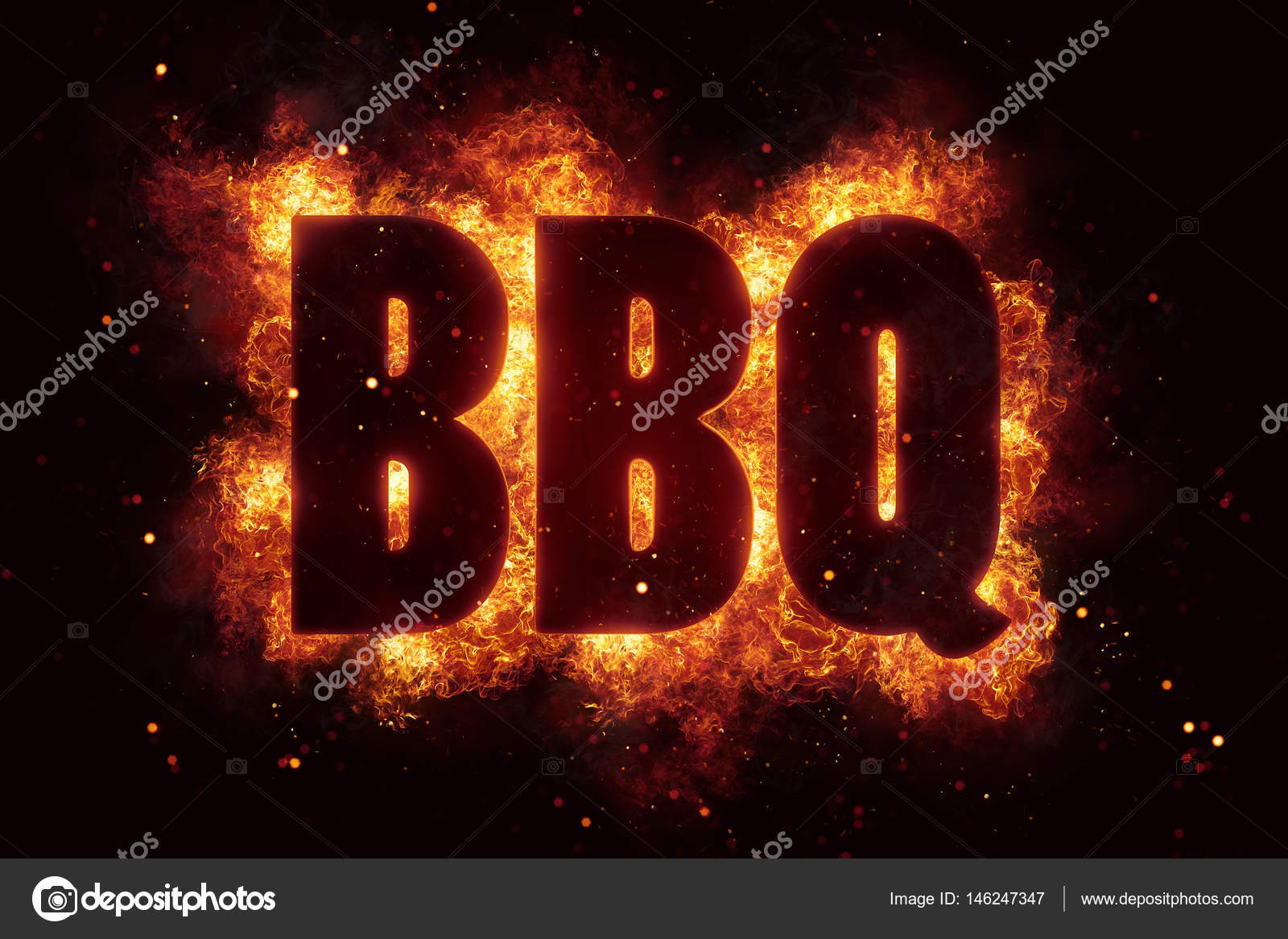 Bbq party text on fire flames explosion stock photo artefacti bbq party text on fire flames explosion explode photo by artefacti buycottarizona