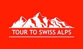 Photo White Logo of Swiss Mountains