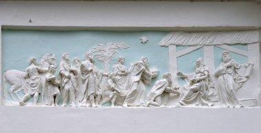 Stucco molding Scene