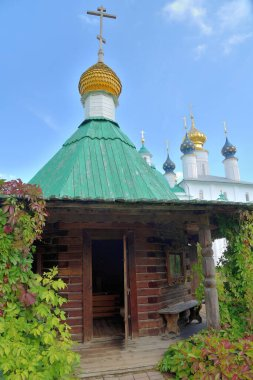 Chapel above source of water of St. James of Spaso-Yakovlevsky Monastery, Monastery of St. Jacob Saviour, situated to left from  Rostov kremlin, it was founded in 1389 century