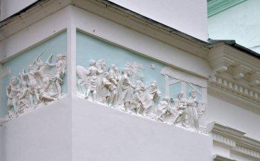 Stucco molding Scenes
