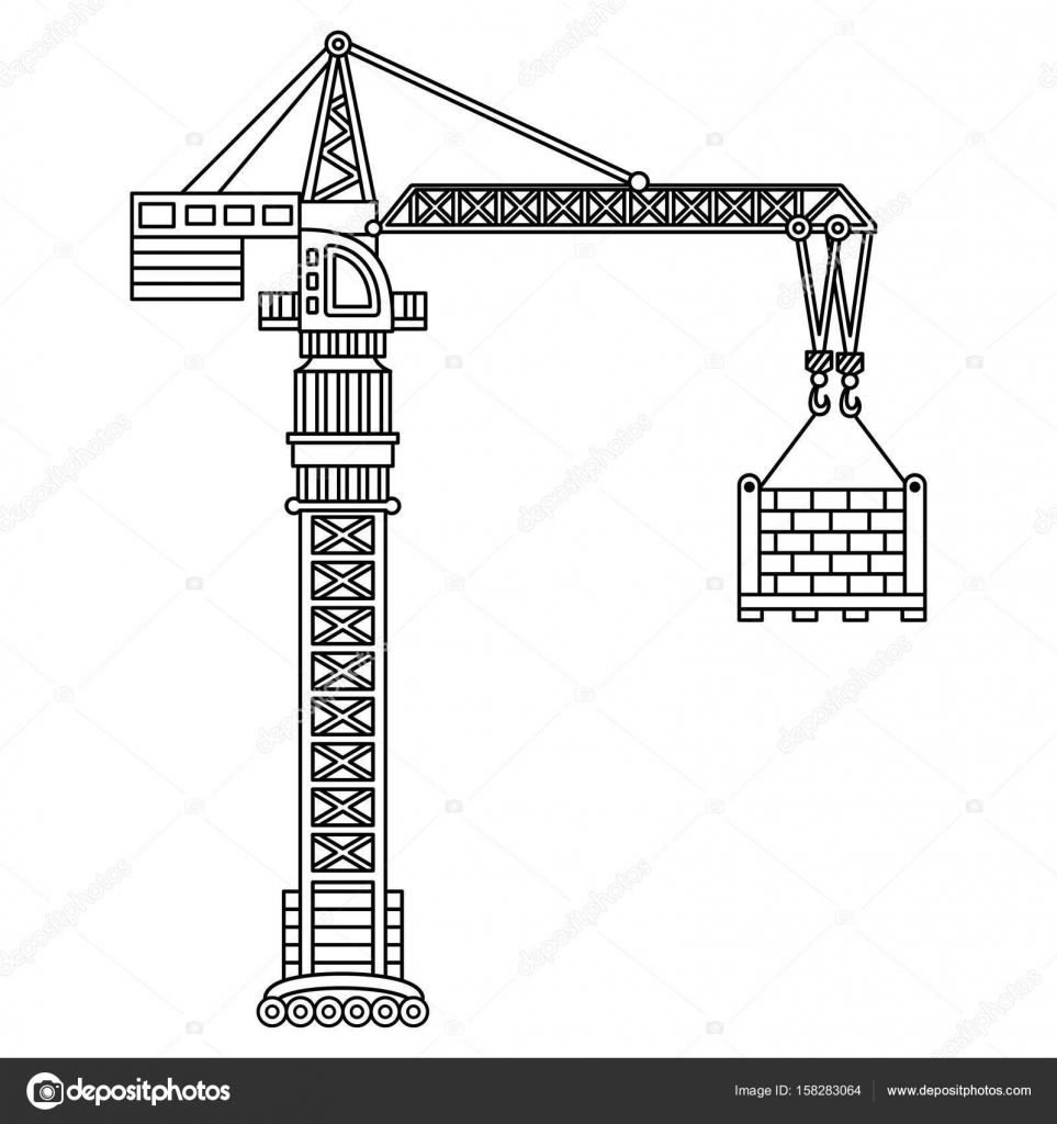 crane construction diagram