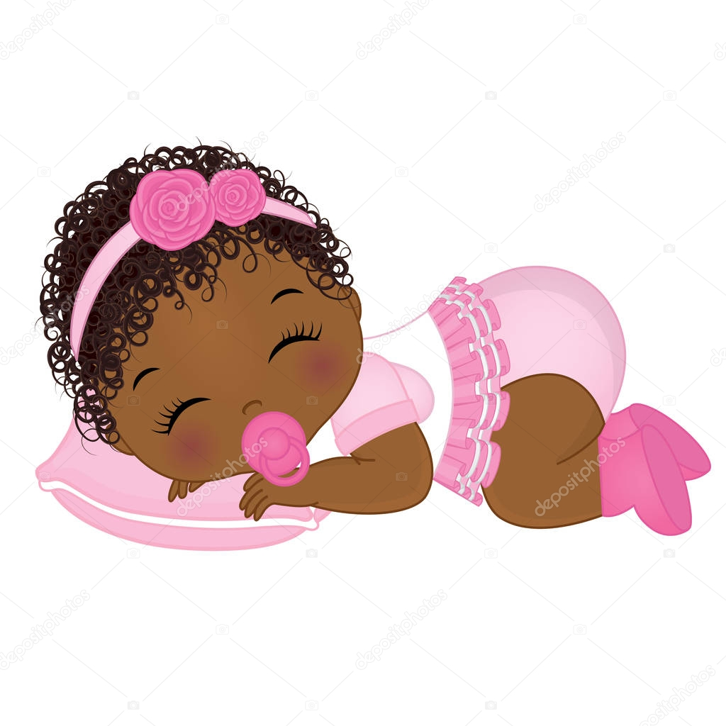 Download Pictures: african american baby girl hairstyles | Vector ...
